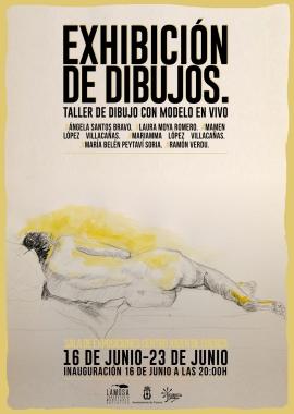Exhibición de dibujos
