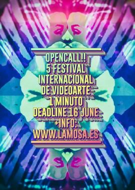 5 Festival Internacional de Videoarte 1 minuto